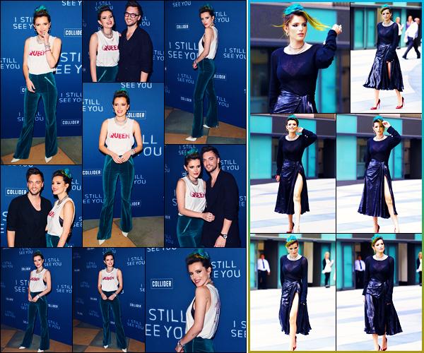 -02/10/2018- ─ Bella Thorne était présente à la projection spéciale de « I Still See You » qui se déroulait à Sherman Oaks.Plus tard, la belle actrice Bella a été photographiée dans les rues dans la ville dans - Culver City. Concernant sa tenue, c'est un très beau top de ma part !