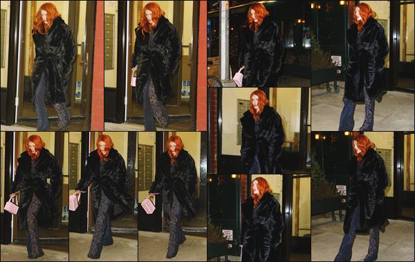 -08/02/2019- ─ Bella Thorne a été photographiée alors qu'elle quittait son hôtel, se situant dans la ville de New York, CA !La jolie actrice se rendait à la New York Fashion Week ayant lieu en Californie ! Je lui accorde un grand top pour cette tenue. Et vous quel est votre avis ?