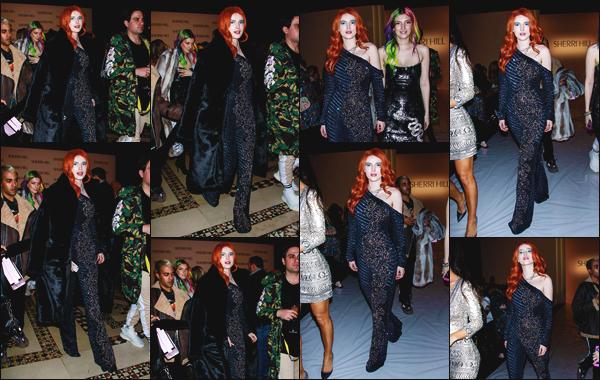 -08/02/2019- ─ Bella Thorne était présente lors du défilé de « Front Row », durant la Fashion Week de New York City, CA.C'est en compagnie de sa soeur : Dani Thorne que l'actrice a été repérée lors de ce show ! Je lui offre un top pour sa tenue, ainsi que sa mise en beauté.