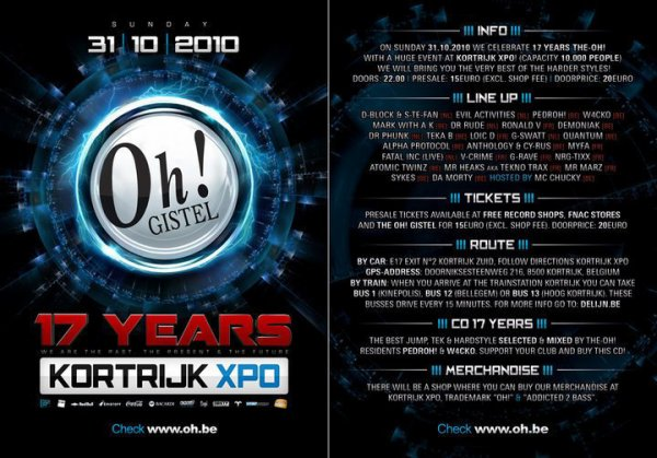 17 years The Oh! Kortrijk Expo
