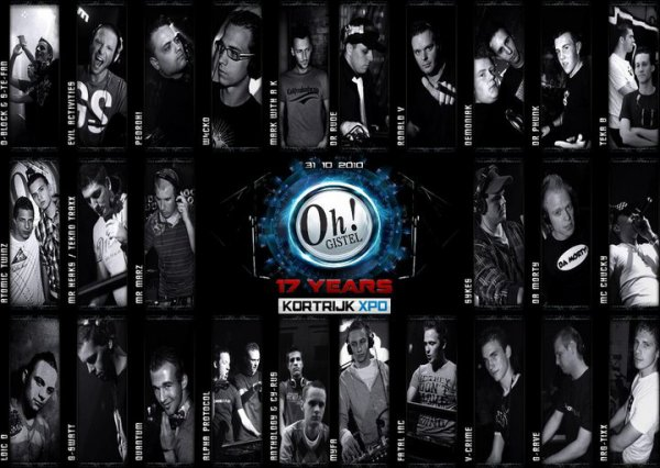 Dimanche 31 Octobre 17 Years Of The Oh! KORTRIJK Expo !!!