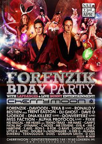Play @t Forenzik B-day Party ! Cherry Moon Lokeren (be)