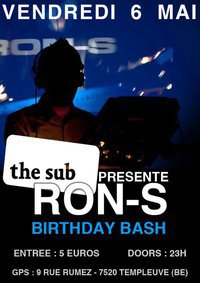 Play @t Ron's B-day @t The sub (59) templeuve