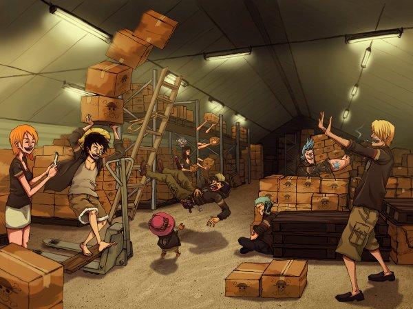 Image de l'équipage Mugiwara