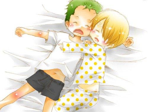 Image Zoro x Sanji (enfant) 229