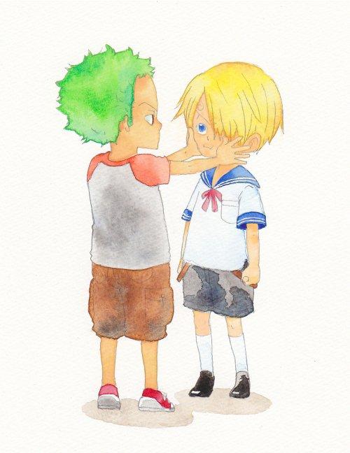 Image Zoro x Sanji (enfant) 230