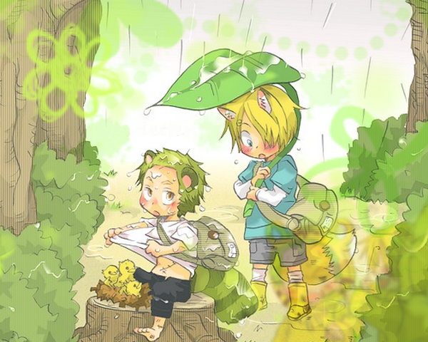 Image Zoro x Sanji (animal) 221