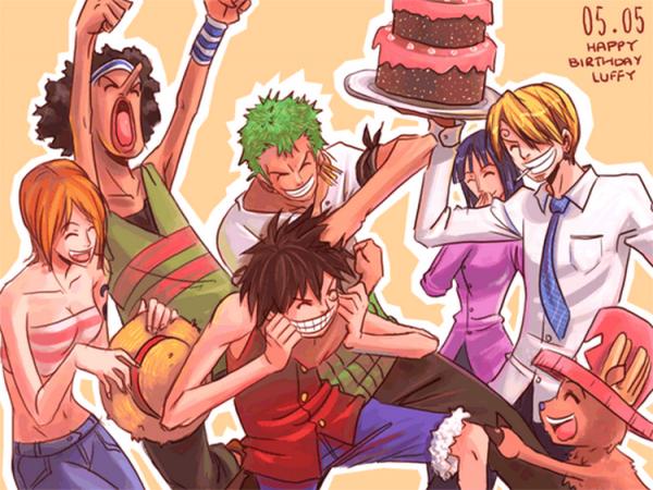 Joyeux Anniversaire Luffy !!!