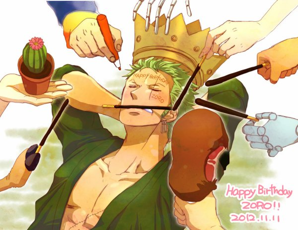 Joyeux Anniversaire Zoro !!!