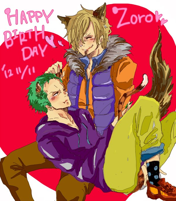Joyeux Anniversaire Zoro !!! (Spécial ZoSan)