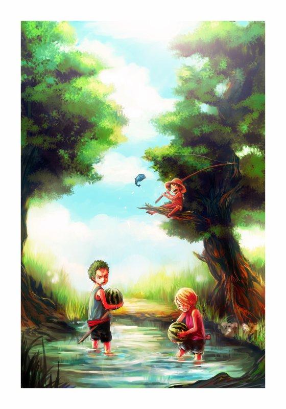 Image des Mugiwara enfant part 5