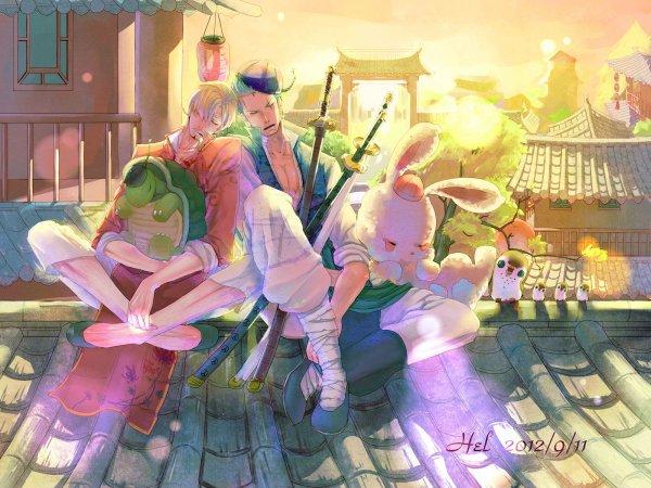 Image Zoro x Sanji 6