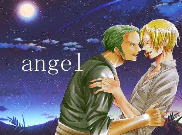 Image Zoro x Sanji 13