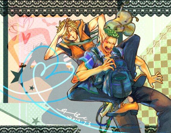 Image Zoro x Sanji 39