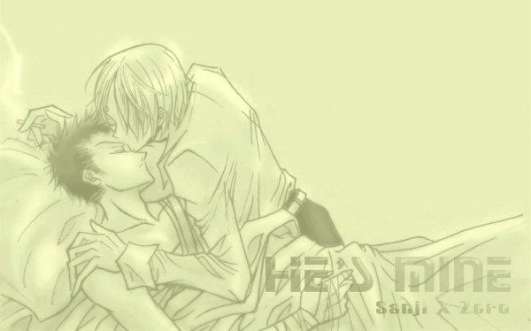 Image Zoro x Sanji 101