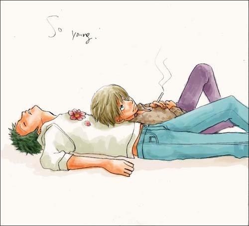 Image Zoro x Sanji 153