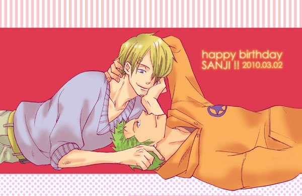 Image Zoro x Sanji 173