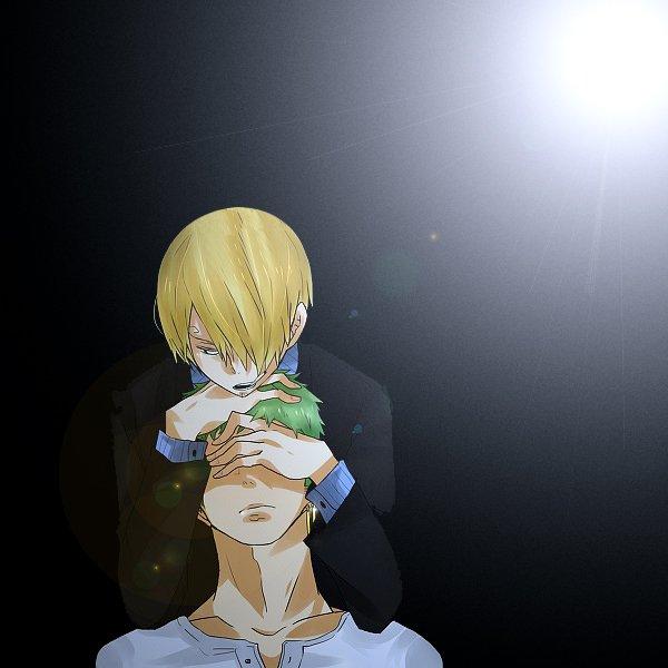 Image Zoro x Sanji 193