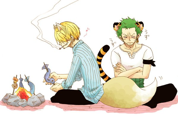 Image Zoro x Sanji (animal) 222