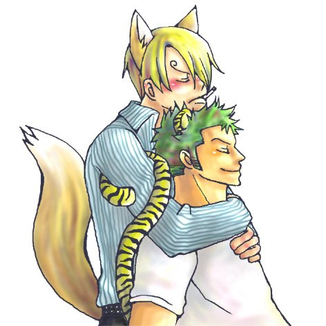 Image Zoro x Sanji (animal) 226