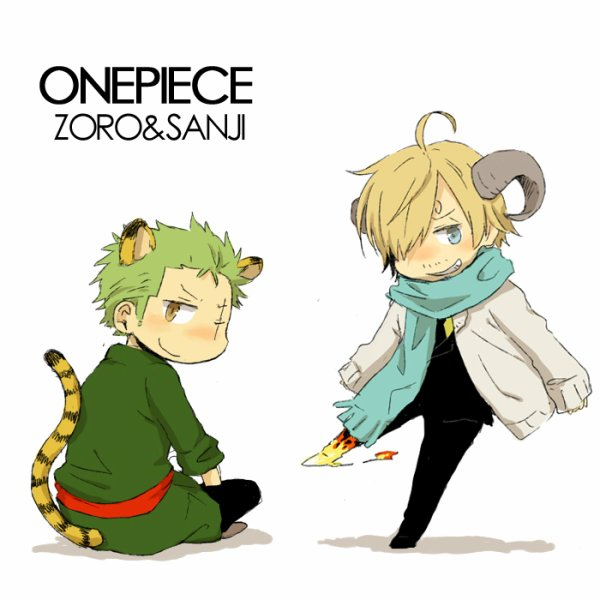 Image Zoro x Sanji (animal) 227