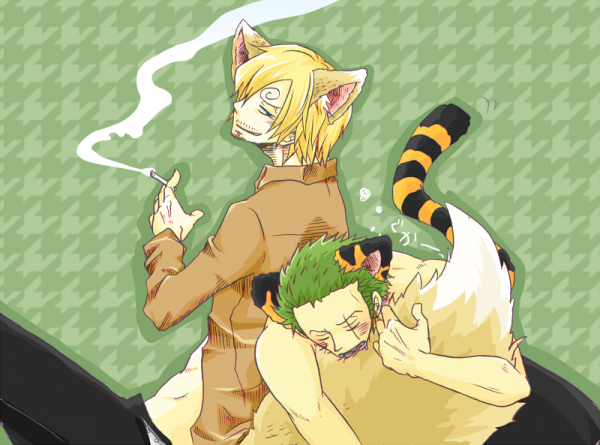 Image Zoro x Sanji (animal) 228