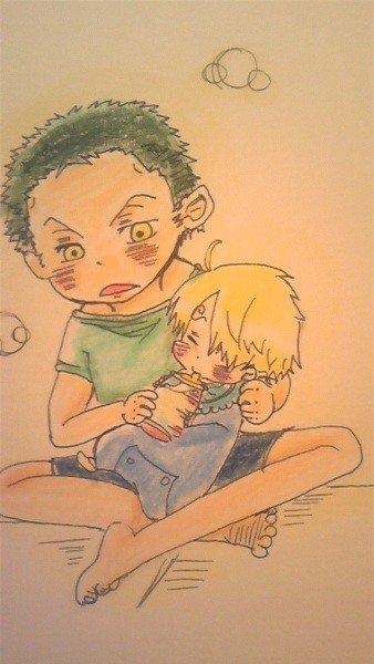 Image Zoro x Sanji (enfant) 236