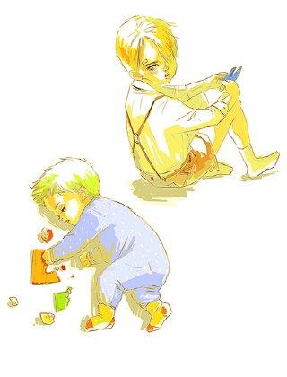 Image Zoro x Sanji (enfant) 241