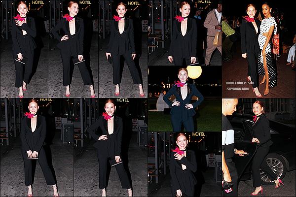 * '•-08/09/21 ─-' Madelaine s'est rendue au défilé de la marque « Moschino » - qui avait lieu dans la ville de New York City. Le soir, Madelaine s'est également rendue au défilé de Prabal Gurung toujours à New York. Elle était sublime. J'aime bien ses deux tenues *