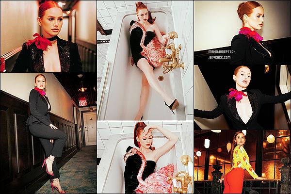 * * '-Photoshoot ●- Découvrez un shoot de Madelaine lors de la «Fashion Week» de New York. *