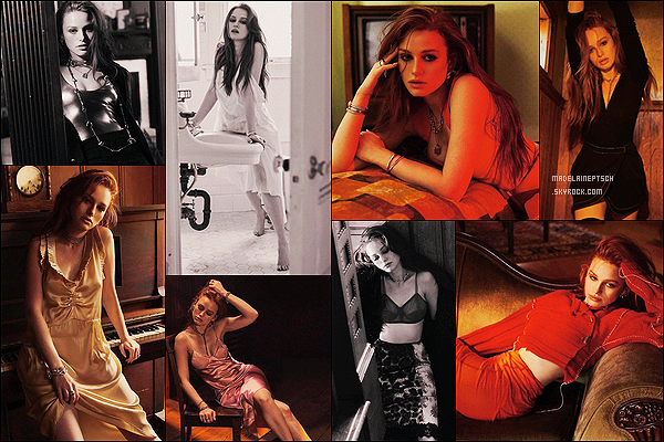 * * '-Photoshoot ●- Voici un shoot de Madelaine - pour le magazine «Numero Netherlands». *