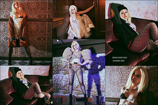 * * '-Photoshoot ●- Découvrez un photoshoot de Madelaine pour le magazine «Wonderland». *