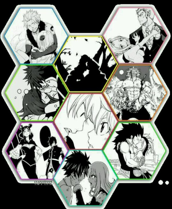 Mes couples de fairy tail