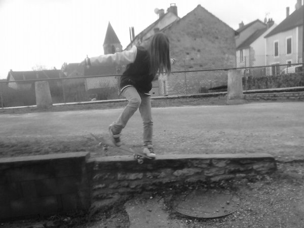 tentative de heelflip