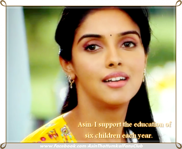 Health is of utmost importance, says Asin