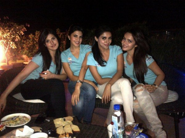 Asin's Wild Party with H2 girls in Warda Nadiadwala's House.