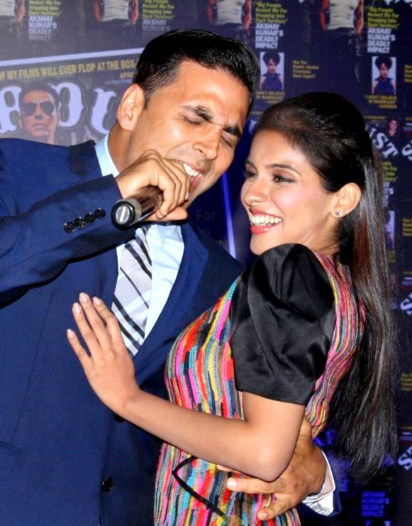 Asin at Stardust cover launch Promoting Housefull 2