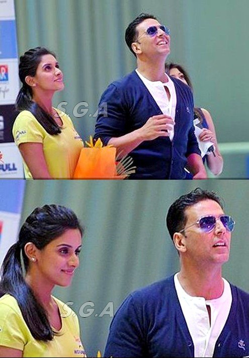 Asin during a press conference for her upcoming film 'Housefull 2' at Iskate, Ambience Mall, Gurgaon on March 27, 2012.