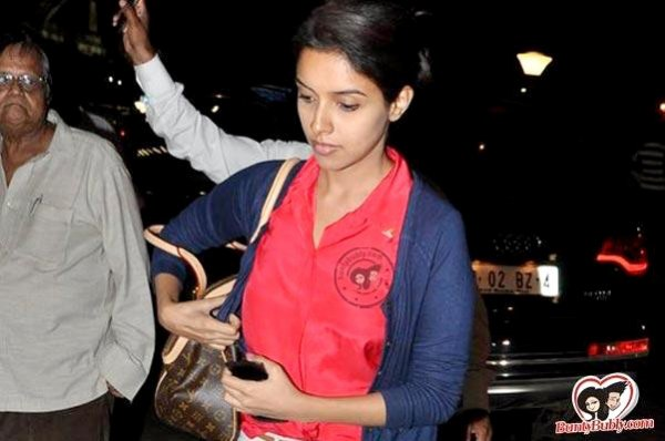 Asin was seen leaving for the Singapore premiere of Housefull 2