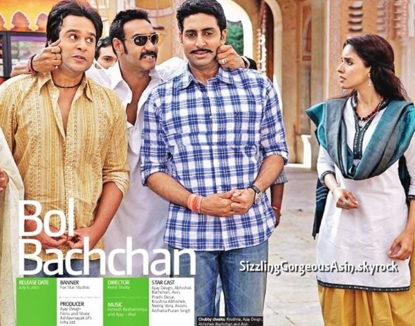 Bol Bachchan new stills