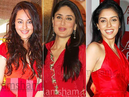 Sonakshi challenges Kareena and Asin at the top