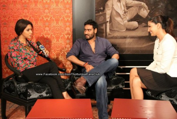 Bol Bachchan promotion,Press Conference in Grand Hyatt Dubai. ツ