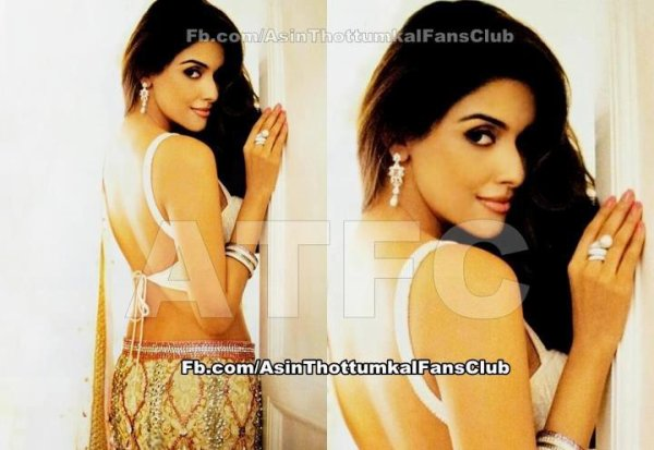 New Gorgeous Pic of Asin from Bridal Mantra