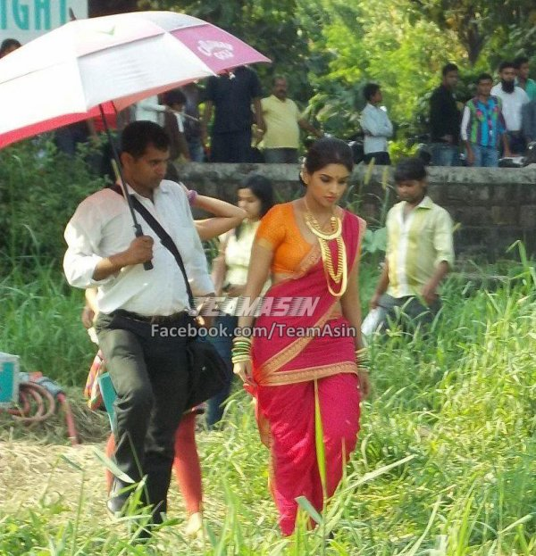 Asin on the sets of Khiladi786