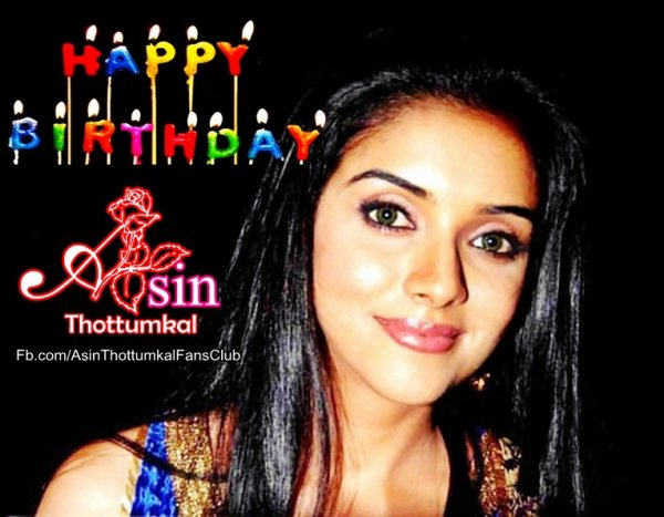 Happy Birthday Asin 2012