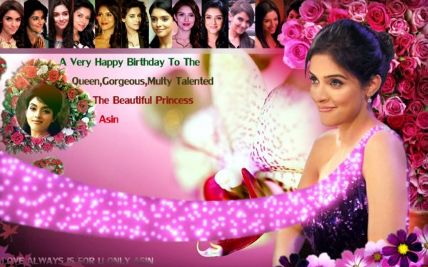 Asin: No Respite From Hectic Schedule for Birthday Girl