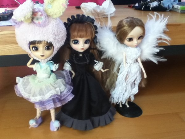 Rencontre Pullipienne ~ Chupaa-pullip et Jolies-Dollz
