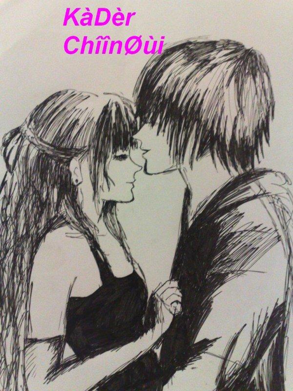 I go crazy when you kiss me
