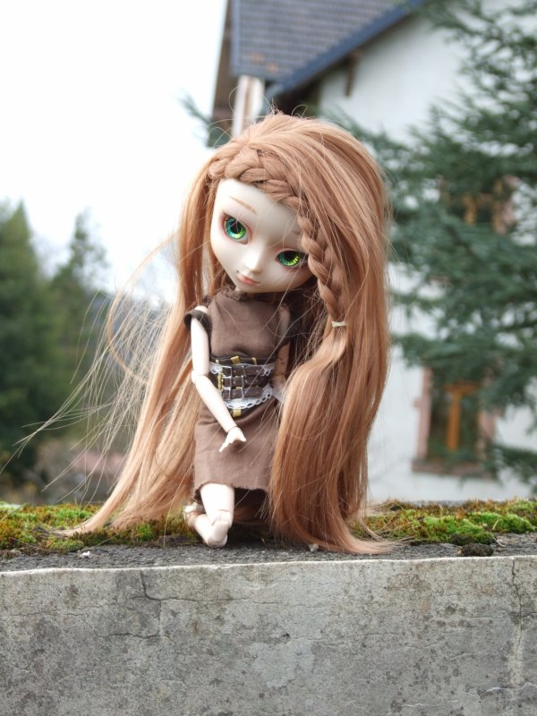 Portrait de ma 1ère pullip: Mirage la Naturel
