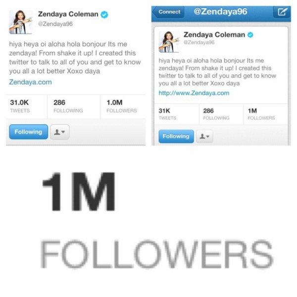 Premières photos de Zendaya à New York le 1 août. + Daya à 1 Million de Followers !!!!